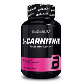 BioTech USA L-Carnitine 1000mg 30 Tabletter