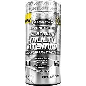 MuscleTech Platinum Multivitamin 90 Capsules