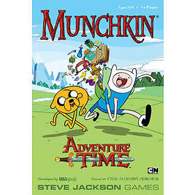 Steve Jackson Games Munchkin Adventure Time