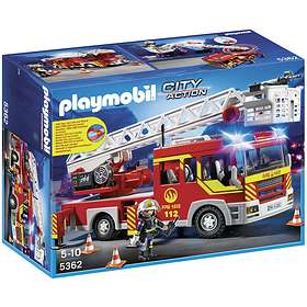 Playmobil City Action 5362 Ladder Unit with Lights and Sound