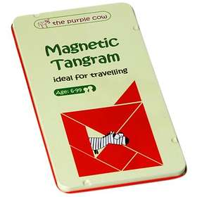 The Purple Cow Magnetic Tangram (pocket)