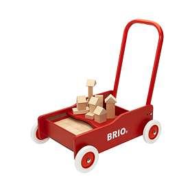BRIO Lær-å-gå-vogn Med Klosser