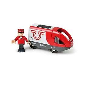 BRIO Batteridrivet Passagerartåg 33504