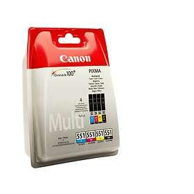 Canon CLI-551C/M/Y/BK (Cyan/Magenta/Gul/Sort)