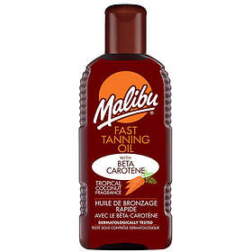 Malibu Sun Fast Tanning Oil 200ml