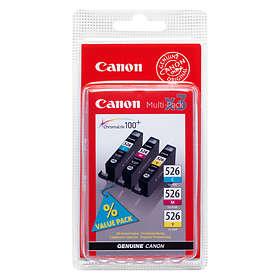 Canon CLI-526C/M/Y (Cyan/Magenta/Gul)