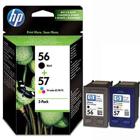 HP 56 (Black) + 57 (3-Colour)