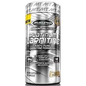 MuscleTech 100% Platinum Carnitine 180 Kapsler
