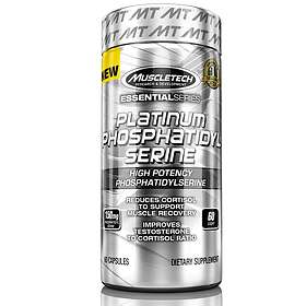 MuscleTech Platinum Phosphatidyl Serine 60 Capsules