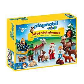 Playmobil 1.2.3 5497 Jul I Skogen Advent Calendar 2014