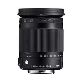 Sigma 18-300/3,5-6,3 DC Macro OS HSM Contemporary for Nikon