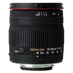 Sigma AF 18-200/3,5-6,3 DC New for Nikon