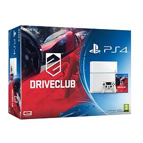 Sony PlayStation 4 500Go (+ DriveClub) - White Edition