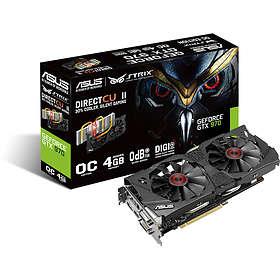 Asus GeForce GTX 970 Strix DirectCU II OC HDMI DP 2xDVI 4Go