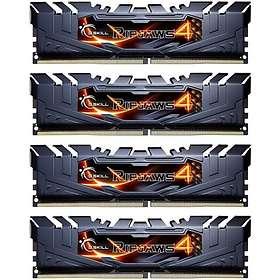 G.Skill Ripjaws 4 Black DDR4 PC22400/2800MHz CL16 4x4GB