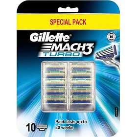 Gillette Mach3 Turbo 10-pack