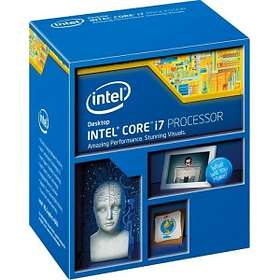 Intel Core i7 4770K 3,5GHz Socket 1150 Box without Cooler