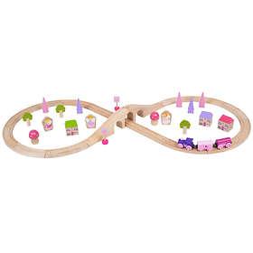Bigjigs Rail Fairy Figure of Eight Train Set BJT022
