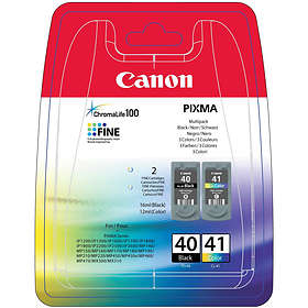 Canon PG-40 (Black) + CL-41 (3-Colour)