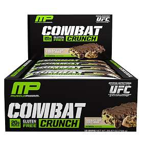 Musclepharm Combat Crunch Bar 63g 12stk