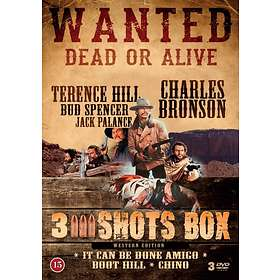 Wanted Dead or Alive - 3 Shots Box