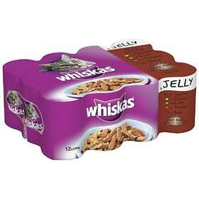 Whiskas Tins Adult Jelly 12x0,39kg