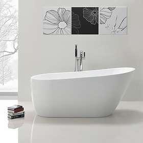 Bathlife Ideal Frittstående 170 168x72 (Hvit)