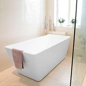 Bathlife Ideal Fristående Rakt 160x76 (Vit)