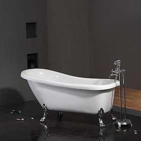 Bathlife Tassbadkar Ideal 153x67 (Vit)