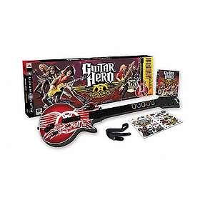 Guitar Hero: Aerosmith (inkl. Gitarr) (PS3)