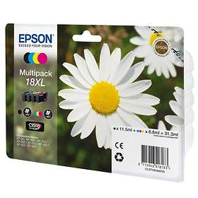 Epson 18XL (Black/Cyan/Magenta/Yellow)