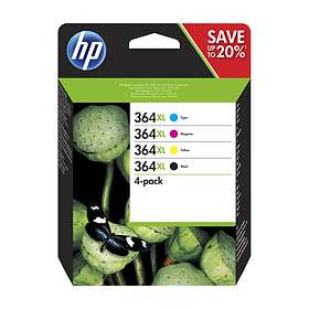 HP 364XL (Black/Cyan/Magenta/Yellow)