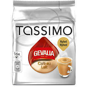 Gevalia Tassimo Café au Lait 16st (Kapslar)