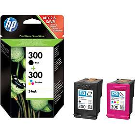 HP 300 (Black/3-Colour)
