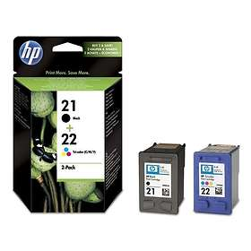 HP 21 (Black) + 22 (3-Colour)