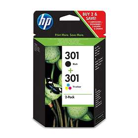 HP 301 (Black/3-Colour)