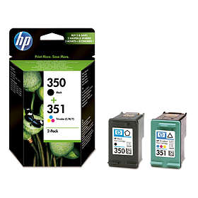 HP 350 (Black) + 351 (3-Colour)