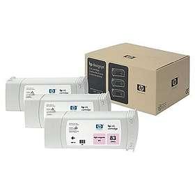 HP 83 (Ljusmagenta) 3-pack