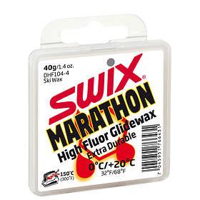 Swix DHF104 Marathon White Wax 0 to +20°C 40g