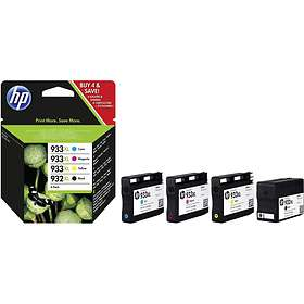 HP 932XL (Black) + 933XL (Cyan/Magenta/Yellow)