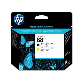 HP 88 Printhead (Svart/Gul)