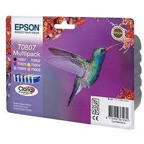 Epson T0807 (6 Farger)