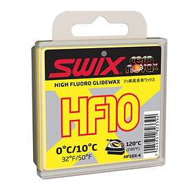 Swix HF10X Yellow Wax 0 to +10°C 40g