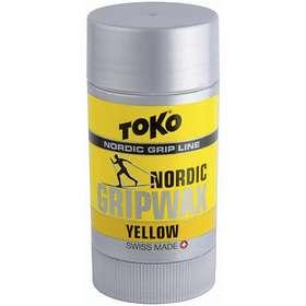 Toko Nordic GripWax Yellow -2 to 0°C 25g