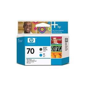 HP 70 (Mattsvart/Cyan)