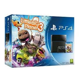 Sony PlayStation 4 500GB (incl. LittleBigPlanet 3)