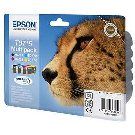 Epson T0715 (Black/Cyan/Magenta/Yellow)