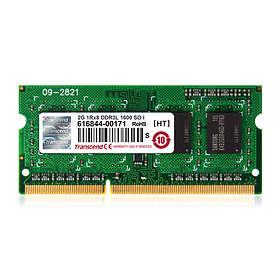 Transcend SO-DIMM DDR3L 1600MHz 2GB (TS256MSK64W6N)