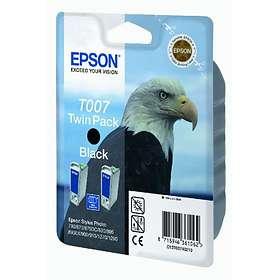 Epson T007 (Svart) 2-pack