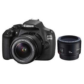 Canon EOS 1200D + 18-55/3,5-5,6 III + 50/1,8 II